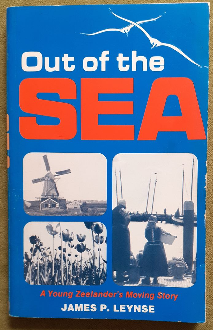Cover Out of the Sea van James P. Leynse