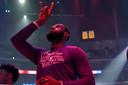Eerbetoon van LeBron James aan Kobe Bryant.