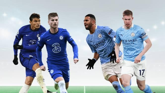 De Bruyne als certitude, maar wie stelt u nog op? Dit is uw ideale basiself van CL-finalisten Chelsea en Man City