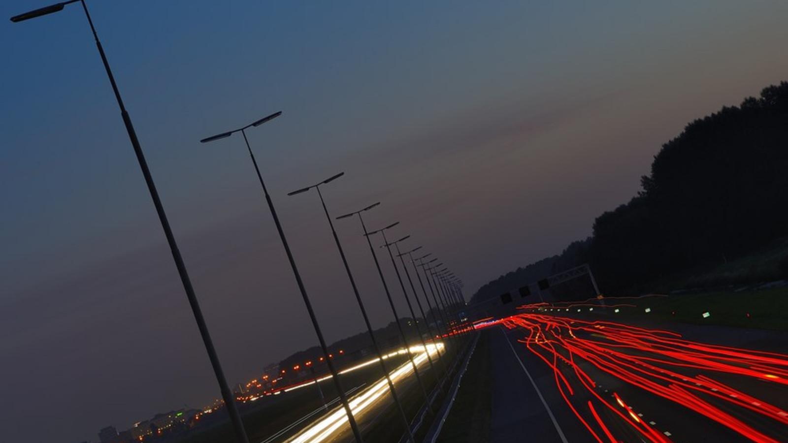 De A4 tussen Amsterdam en Den Haag.