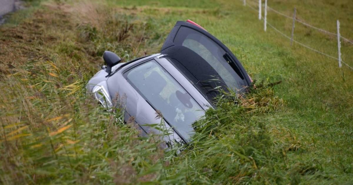 Man gewond bij eenzijdig ongeluk Borssele.