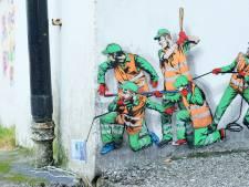 Street art op metrostation Eendrachtsplein als eerbetoon aan RET