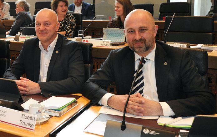Robèrt Brunke (links) en Robert Koevoets gaan samen verder als ProZeeland.