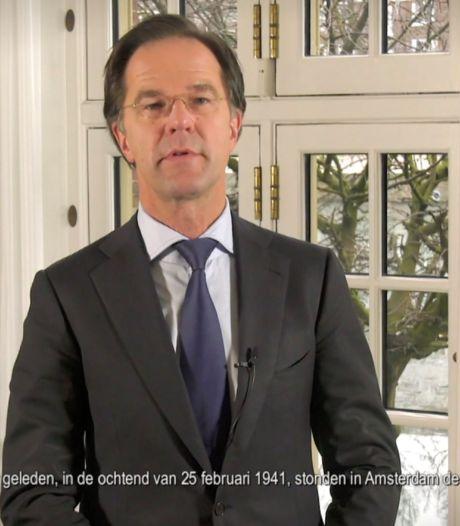 Rutte opent tentoonstelling Verzetsmuseum over Februaristakers