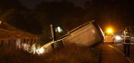 Zwaargewonde bij ongeluk langs A59 in Vinkel