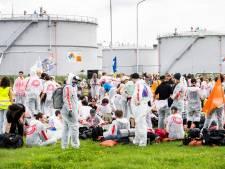Actievoerders blokkeren NAM-locatie Groningen