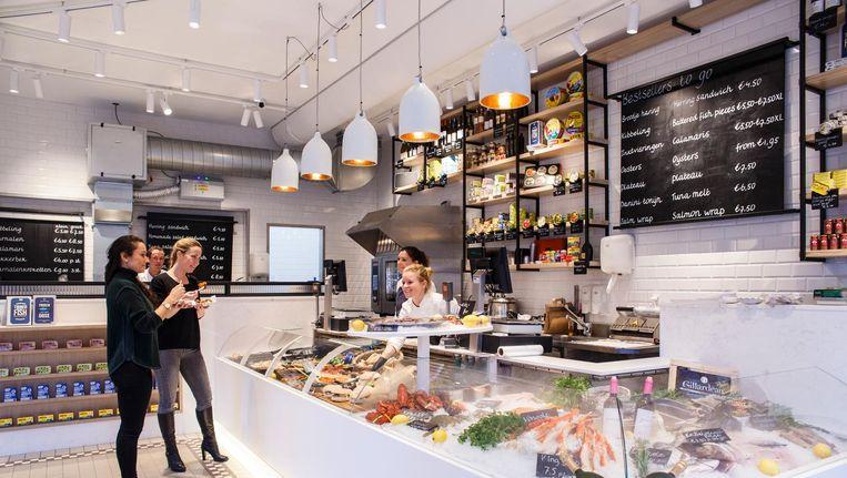 The Seafood Shop aan de Leidsestraat Beeld Carly Wollaert