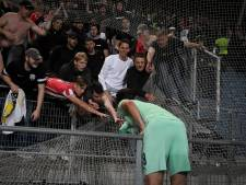 PSV'ers blij dat ze internationale uitsupporters weer eens een zege konden bezorgen
