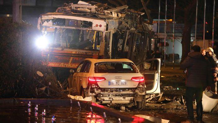 Er zijn meerdere doden en gewonden gevallen bij de explosie.