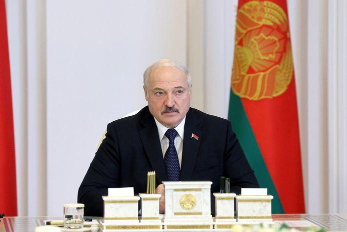 Wit-Russisch president Alexander Loekasjenko.