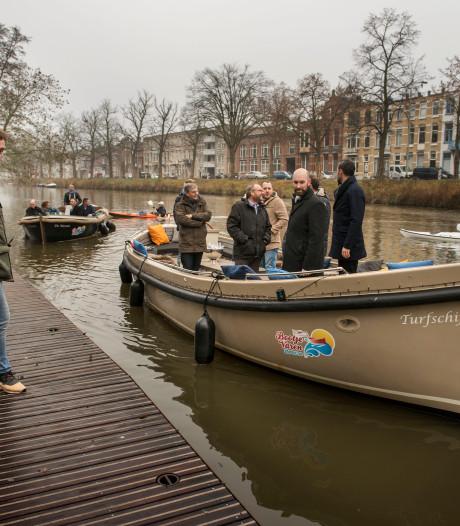 Beloofde nieuwe steigers in Bredase singels blijven uit