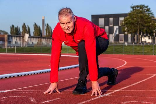 De atletiekbaan in Leidsche Rijn