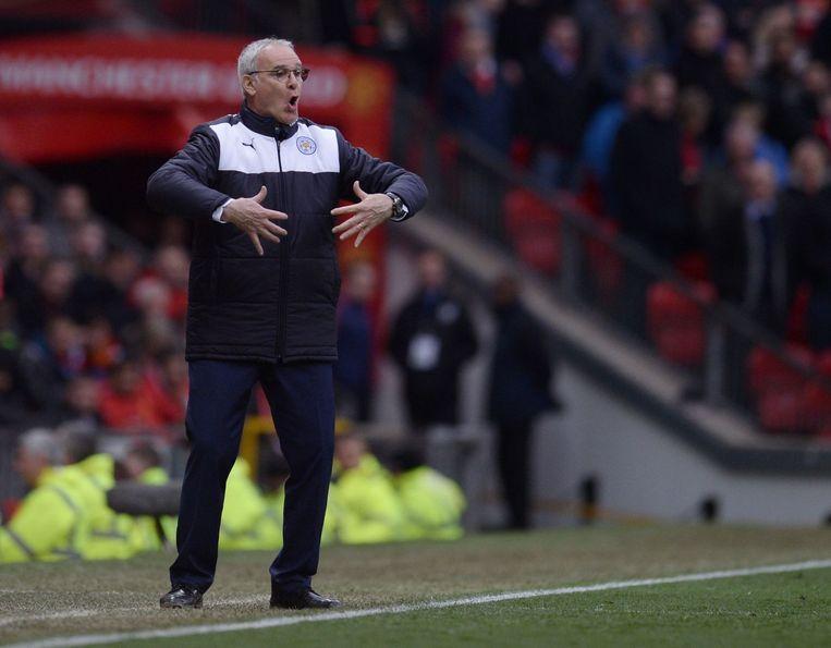 Trainer Claudio Ranieri. Beeld afp