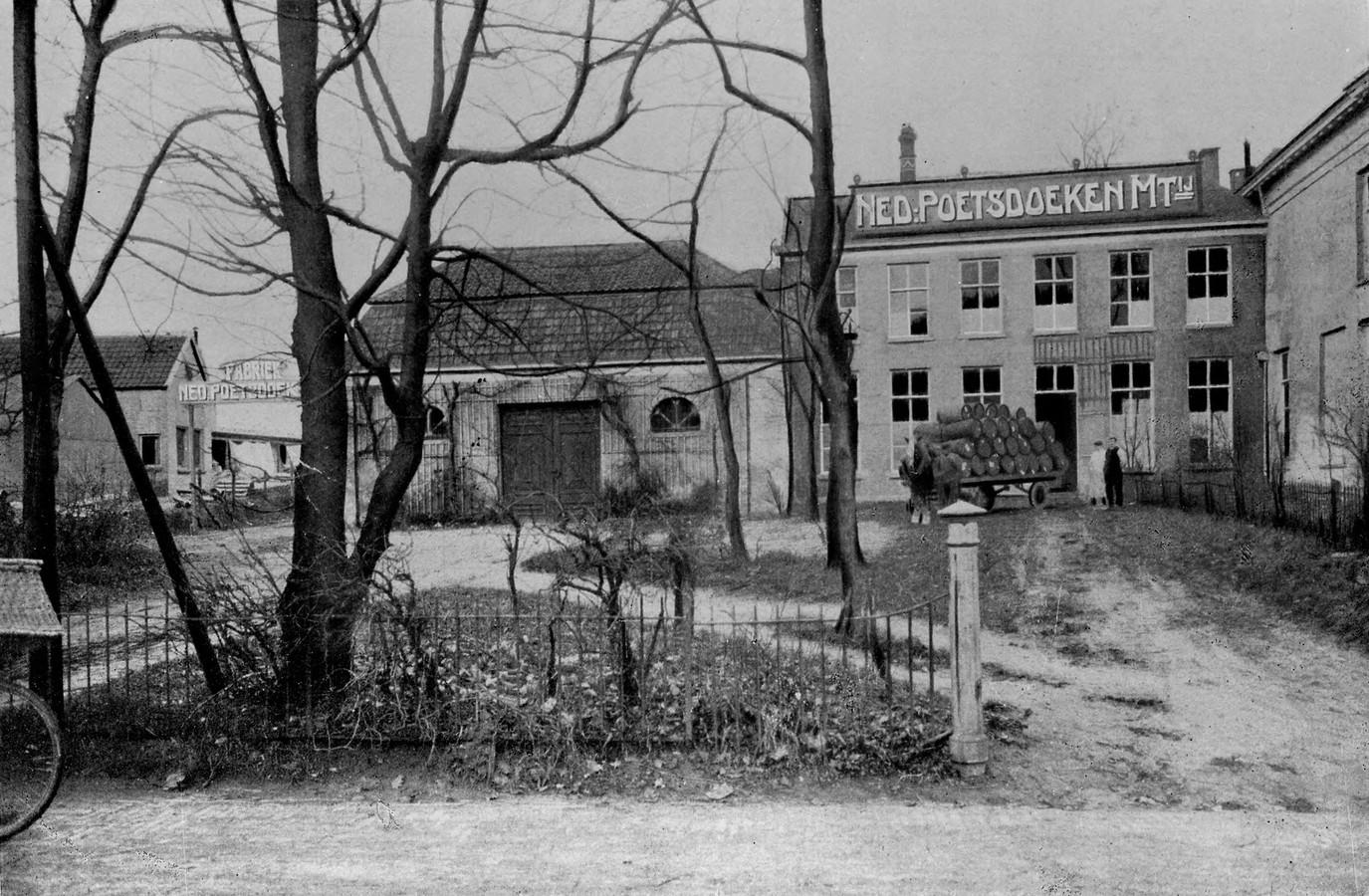 De Neproma-vestiging aan de Amsterdamseweg in 1910.