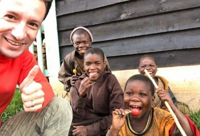 Ambassadeur Luca Attanasio in Congo.