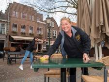 Amersfoortse horeca blij met heropening terrassen: 'Dit is al superbelangrijk voor ons'