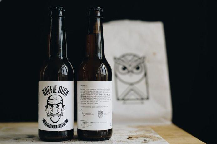 Koffie Dick, een special van Eiber. Inmiddels is dit bier niet meer verkrijgbaar.