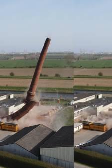 Schoorsteen neergehaald, silhouet van Arnemuiden voorgoed veranderd