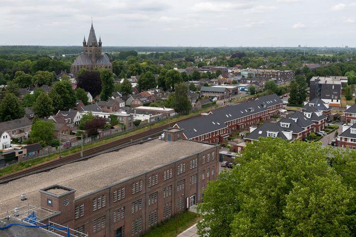 Op het KVL-terrein is in Oisterwijk voorzien in een mix van dure en goedkope woningen.