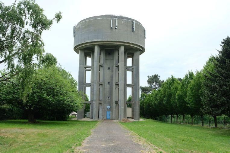 De watertoren van Overijse.