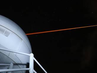 Australische laser kan ruimteafval uit baan duwen