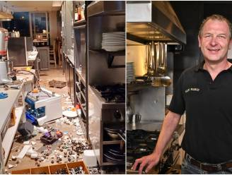 """Wat kan die man in godsnaam bezield hebben?"" Blind vandalisme shockeert uitbaters restaurant San Marco"
