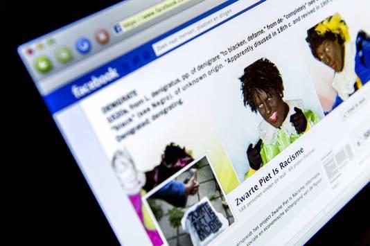 De Facebookpagina van Zwarte Piet is Racisme.