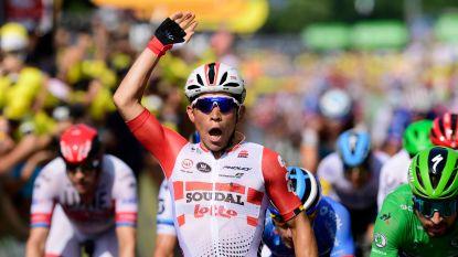Ewan boekt tweede ritwinst in Tour, Fuglsang geeft op na val