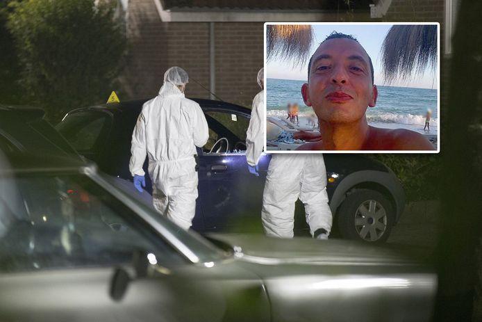 Spyshopmedewerker Ronald Bakker werd in september 2015 in Huizen vermoord. Ridouan Taghi in kader.