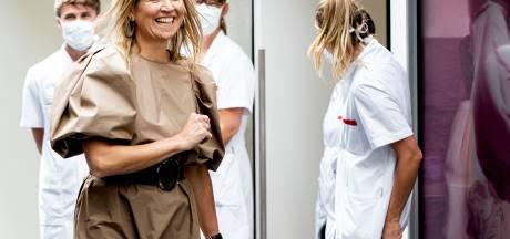 Deze 'ongestreken' jurk kocht Máxima gewoon bij de H&M voor 50 euro