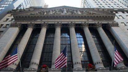 Recordjacht Wall Street stokt