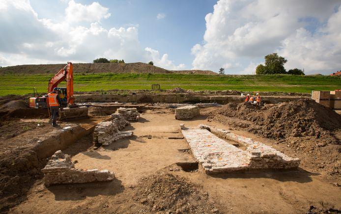 Archeologisch onderzoek.