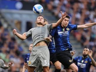 Zinho Vanheusden verliest met Genoa tegen moederclub Inter Milaan