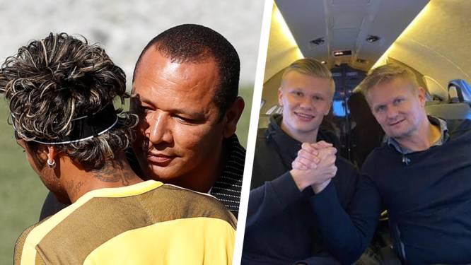Van Haaland over Messi tot Neymar: allemaal rekenden ze op hun vader als het om de knikkers ging. Of hun vaders op hen