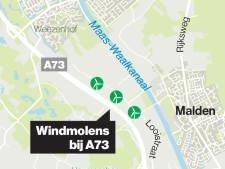 Weezenhof-petitie voor opschorten windmolenplan bij A73 Heumen