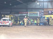 Werk aan dak manege Den Ham ligt 3 weken na ongeluk nog steeds stil