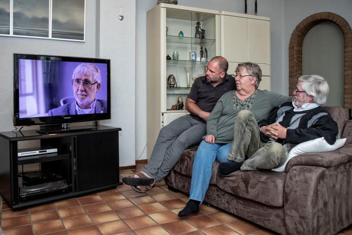 Vlnr: Marcel Mulder, Ank van der Kallen en Louis van der Kallen