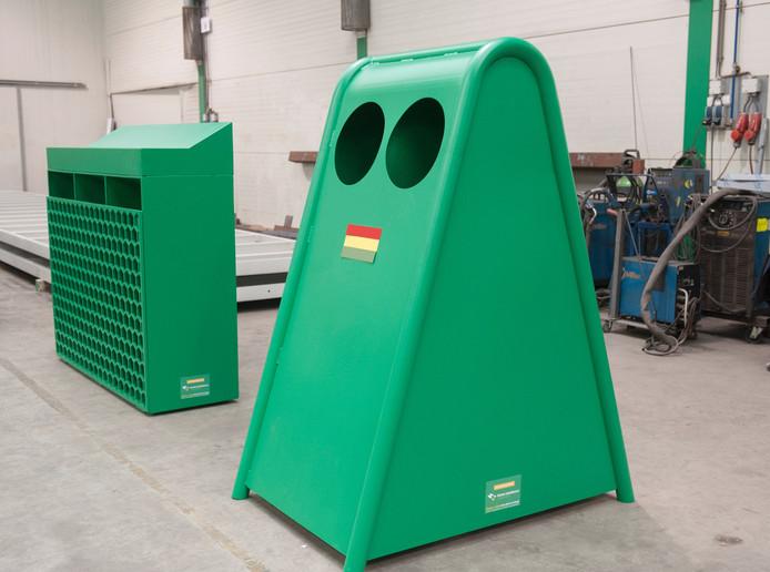 De Solar Trash. Een robuust geval, met speelse lijnen en óntzettend groen.