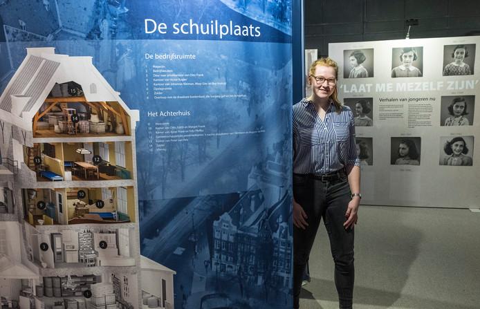 Citaten Uit Dagboek Anne Frank : Anne frank op laatste expositie in het oude bevrijdingsmuseum