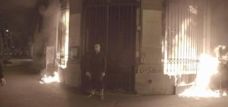 Un artiste russe en garde à vue après avoir mis le feu à la Banque de France