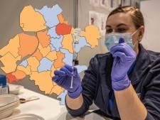 KAART | Coronavirus verliest terrein in Oost-Nederland, 2 gemeenten vallen uit de toon