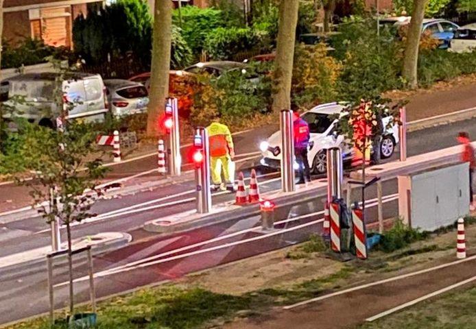 De 28ste automobilist die op de horrorpoller knalt