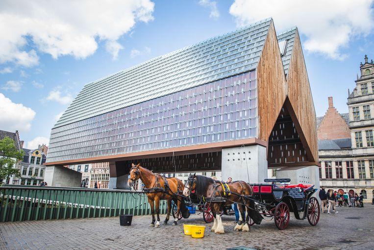 Paardenkoetsen in Gent