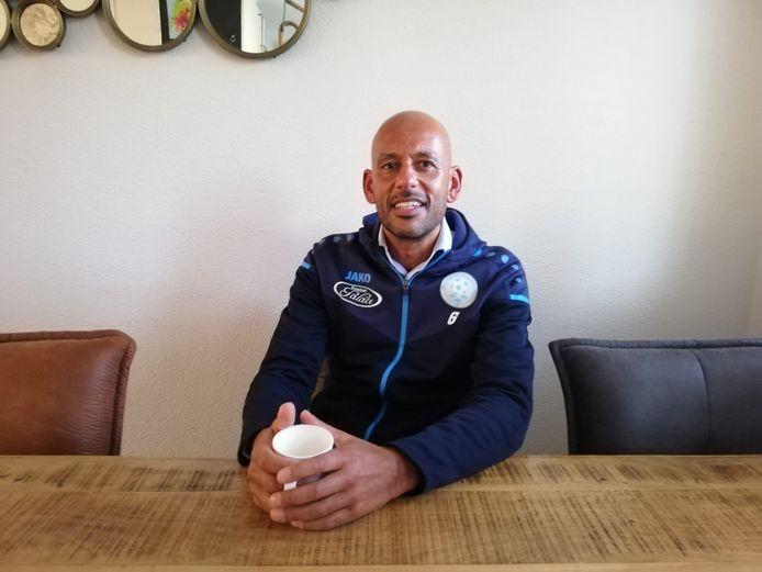 Voorzitter Marco Mahangoe van Almelo FC