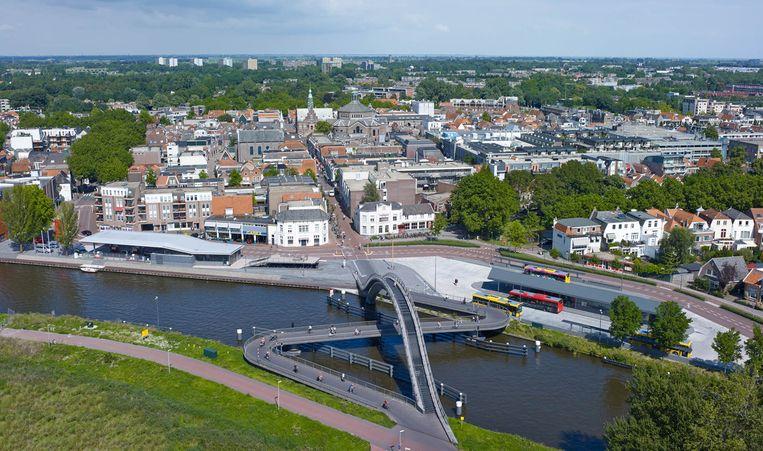 De Melkwegbrug in Purmerend is wél terug te vinden in de expositie. Beeld Jeroen Much/Courtesy of BYCS