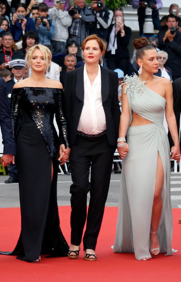 Justine Triet, Virginie Efira et Adele Exarchopoulos