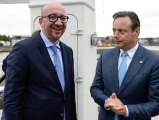 De Wever begraaft evenwicht in 2019 maar Michel heeft berg werk