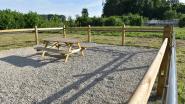 Eerste rustplaats voor paarden geopend