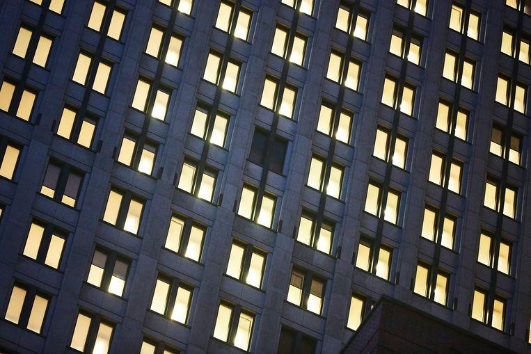 Het ministerie van justitie en veiligheid in Den Haag, waar ook het WODC gevestigd is. Beeld Phil Nijhuis