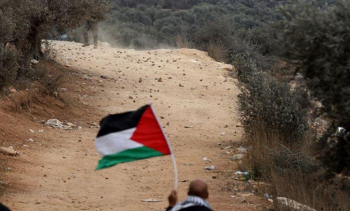 Des colons israéliens se sont installés début mai sur une colline près de Naplouse afin de fonder la colonie sauvage d'Eviatar, sans obtenir l'autorisation du gouvernement israélien.
